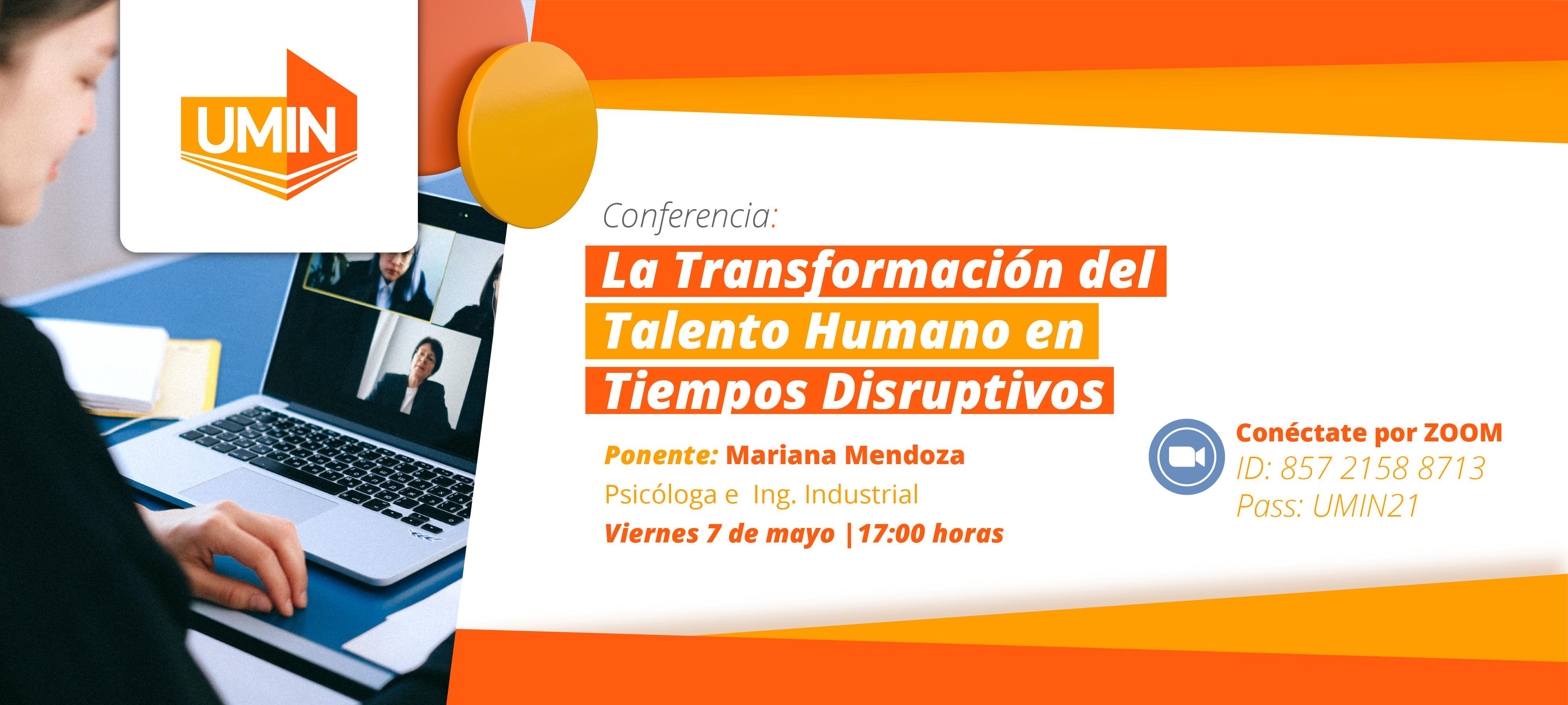 Conferencia La transformación de Talento Humano en Tiempos Disruptivos